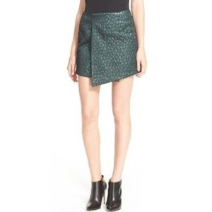 Hunter Bell Cameron Wrap Around Mini Skirt